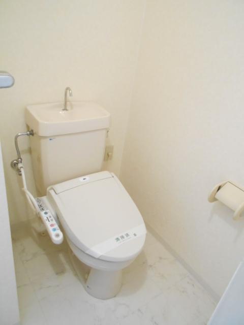 ヴィアーレヤマザキ A102号室のトイレ