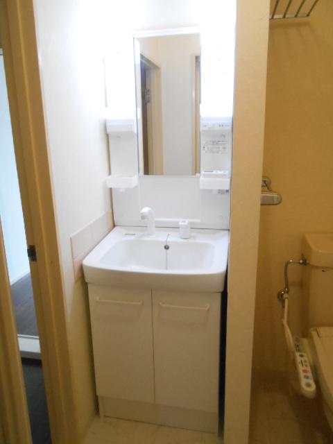 ヴィアーレヤマザキ A102号室の洗面所