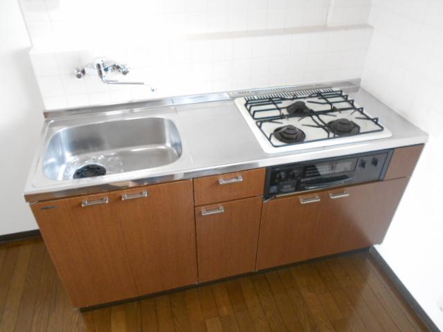 ヴィアーレヤマザキ A103号室のキッチン