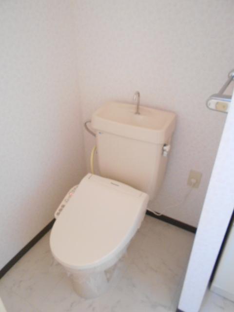 ヴィアーレヤマザキ A103号室のトイレ