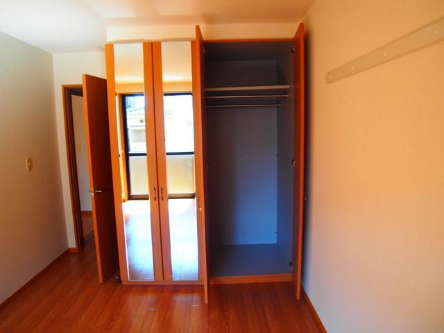 ボンヌール 102号室の収納