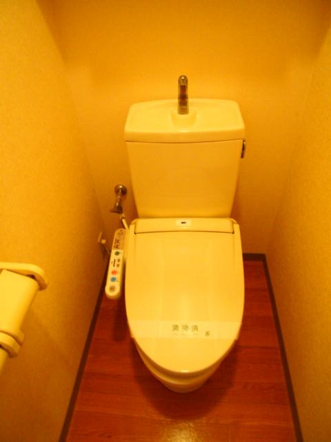 ボンヌール 102号室のトイレ