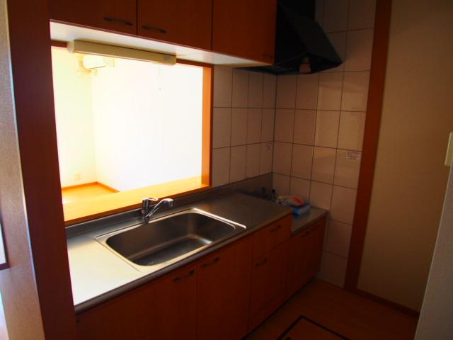 ボンヌール 102号室のキッチン