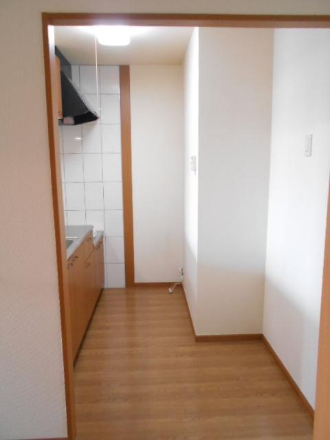 ボンヌール 202号室のキッチン