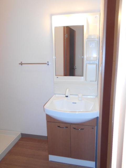 ボンヌール 202号室の洗面所
