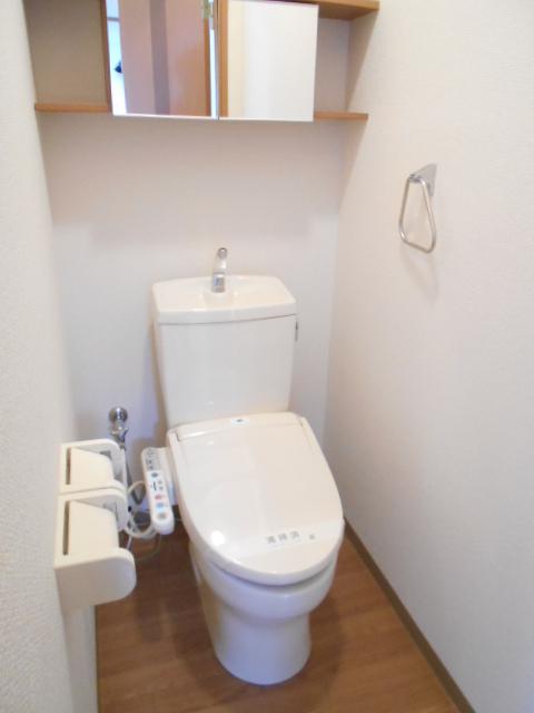 ボンヌール 202号室のトイレ