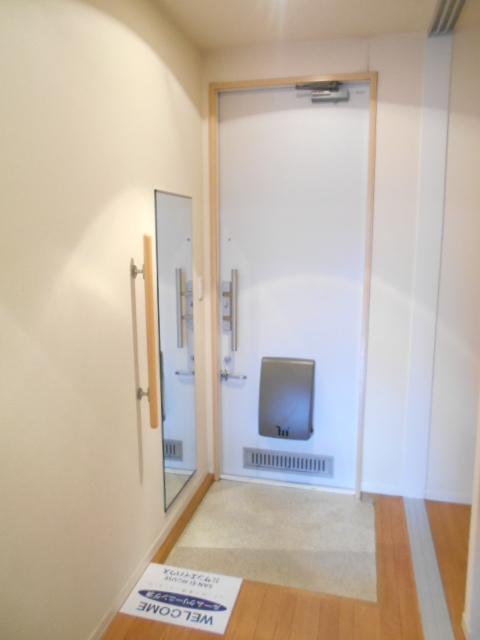 メゾンドゥリュイソー 201号室の玄関