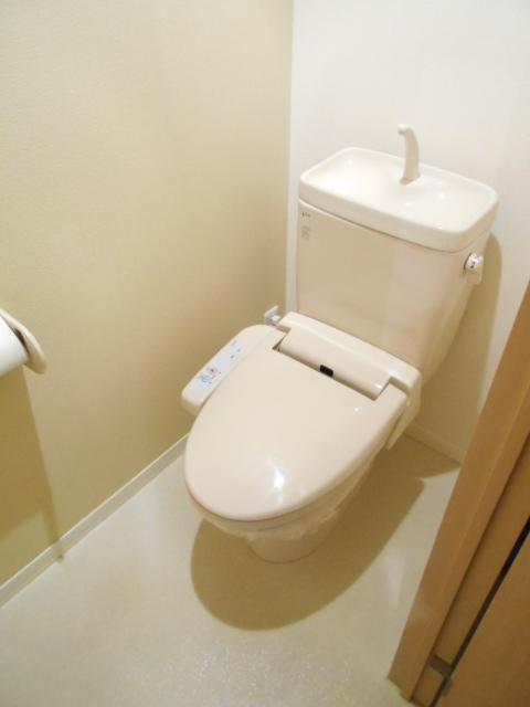 メゾンドゥリュイソー 201号室のトイレ