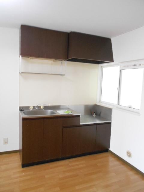 エスポアール中村C 101号室のキッチン