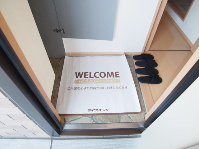 アモーレⅠ 203号室の玄関
