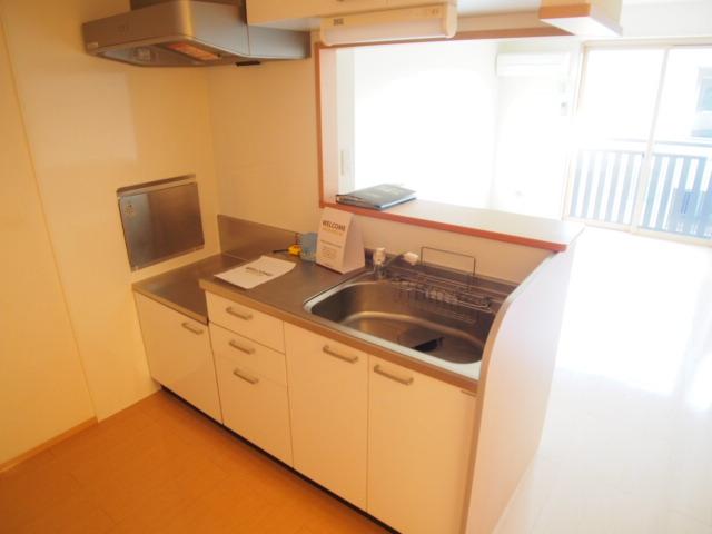 アモーレⅠ 203号室のキッチン