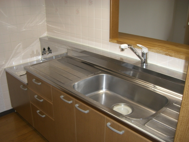 ファンタジーグリーンパレス 105号室のキッチン