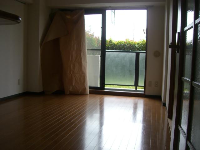 ファンタジーグリーンパレス 105号室のリビング