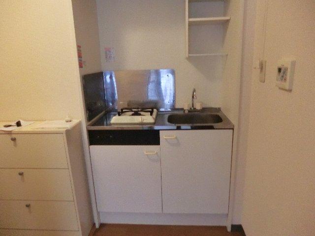 メゾン・ド・華 203号室のキッチン