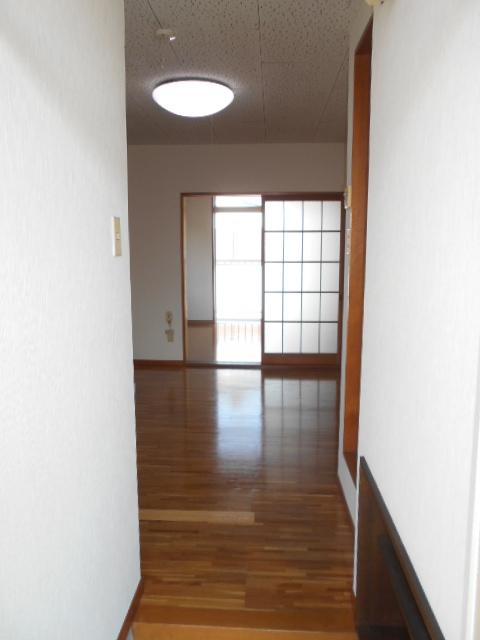 サンライズ88 201号室の玄関