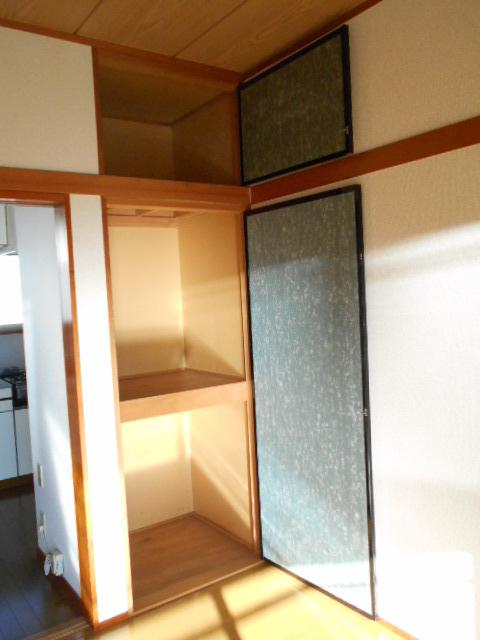 プライムコート 203号室の収納