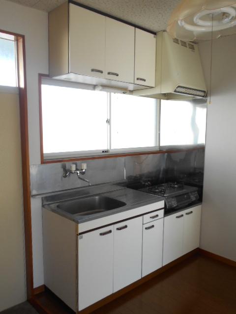 プライムコート 203号室のキッチン