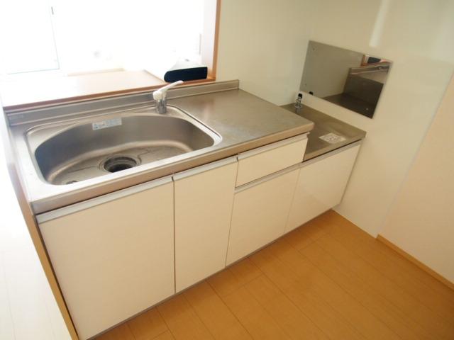 アモーレⅡ 105号室のキッチン