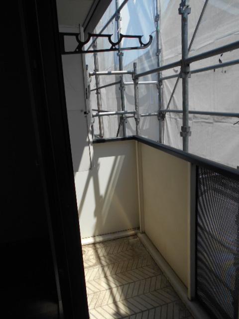 リヴィエールⅡ 205号室のバルコニー