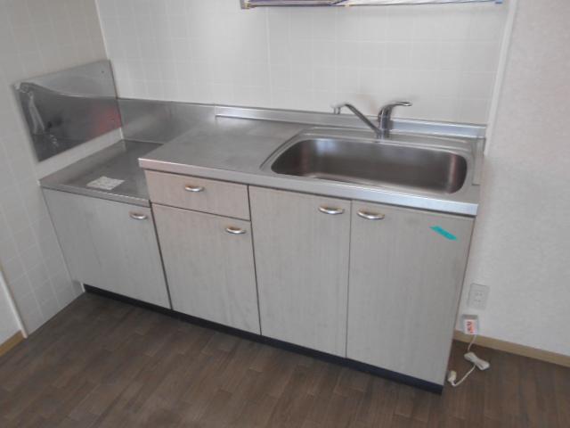 リヴィエールⅡ 205号室のキッチン