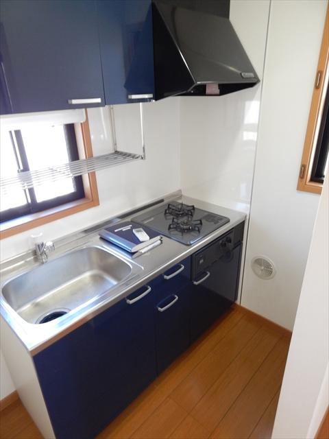 ガーベラ 201号室のキッチン