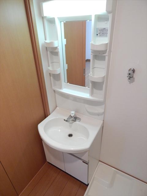 ガーベラ 201号室の洗面所