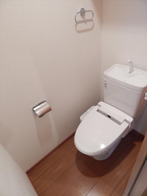 ガーベラ 201号室のトイレ