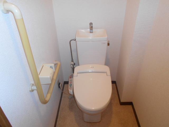 エテルノ豊春 102号室のトイレ