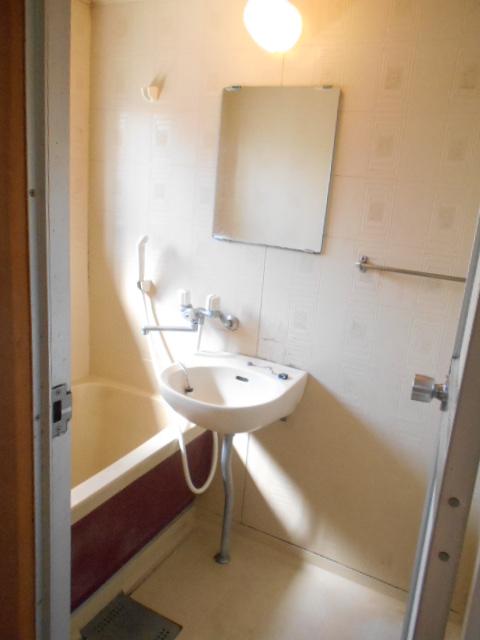 田園ハイネス B号室の風呂