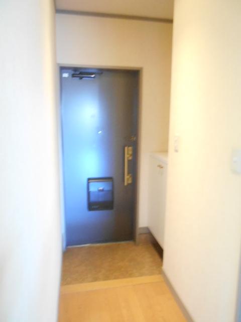 第2ロイヤル島田 303号室の玄関
