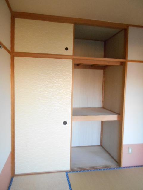 第2ロイヤル島田 303号室の収納
