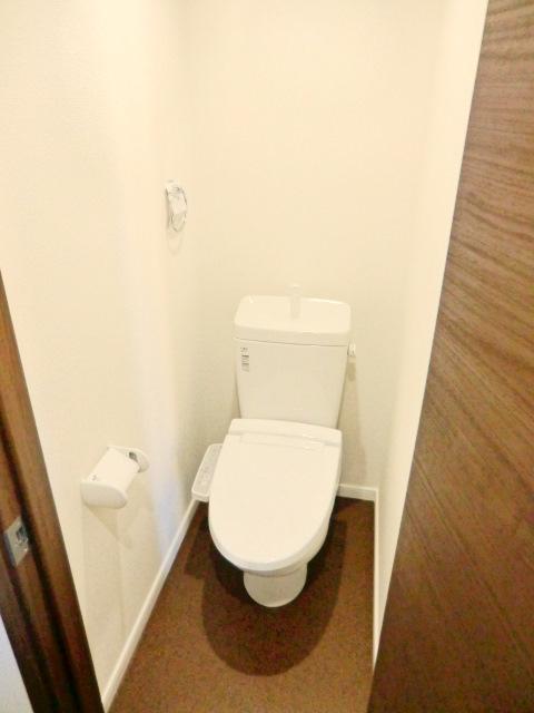 ATG岩槻 303号室のトイレ