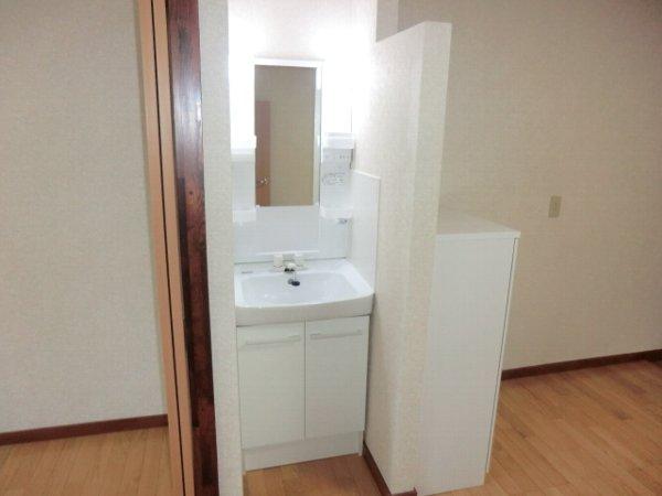 サンマイト小渕 202号室の洗面所