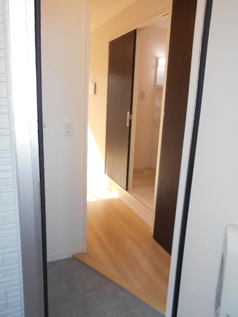セジュールウィット大池Ⅱ 205号室の玄関