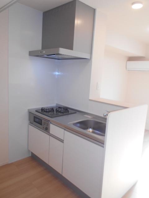 セジュールウィット大池Ⅱ 205号室のキッチン