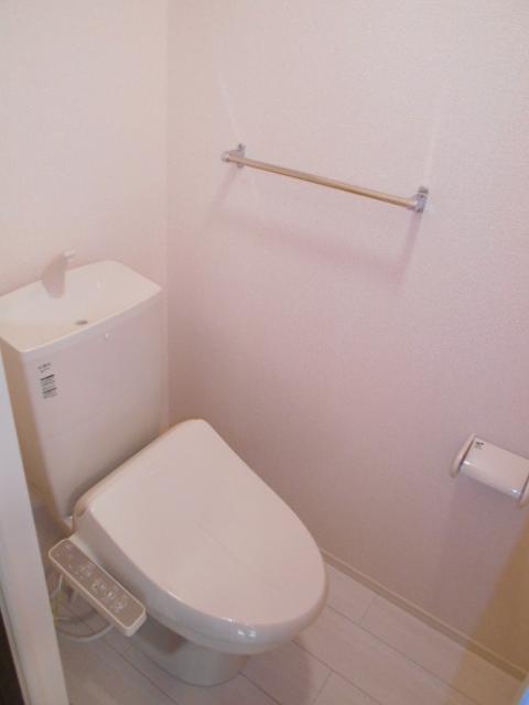 セジュールウィット大池Ⅱ 205号室のトイレ