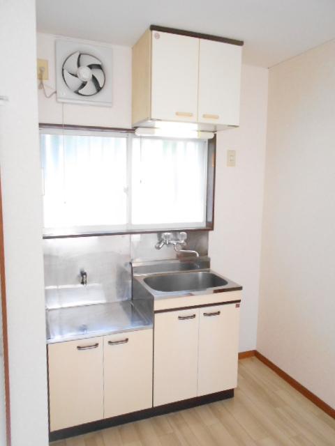 コーポグロー 101号室のキッチン
