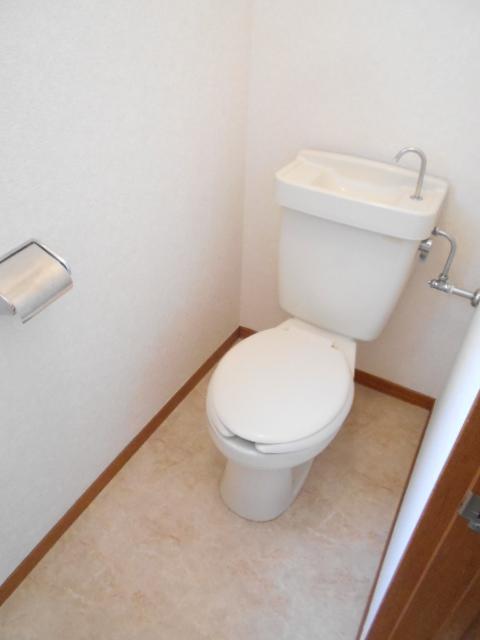 コーポグロー 101号室のトイレ