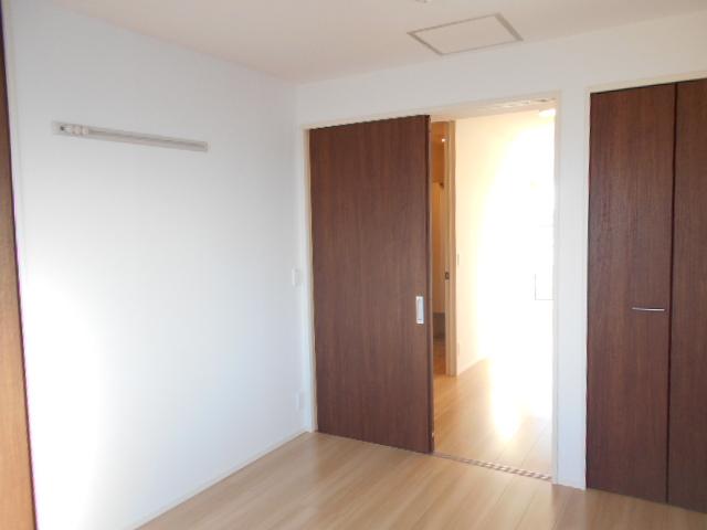 メルヴェーユ 301号室のベッドルーム