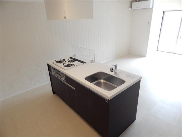 ブランシェ 106号室のキッチン