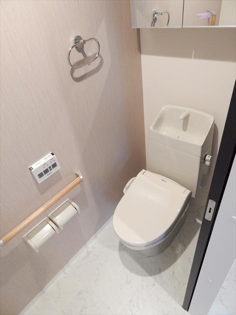 ブランシェ 106号室のトイレ
