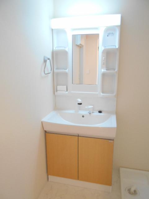 プリシェット 102号室の洗面所