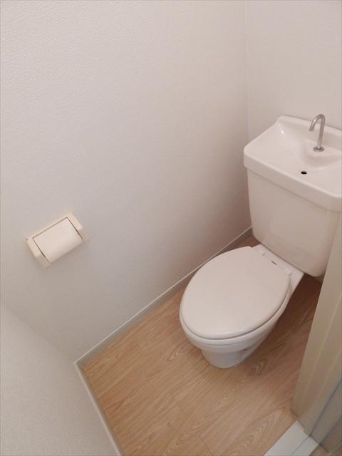 コーポ関根 No2 205号室のトイレ