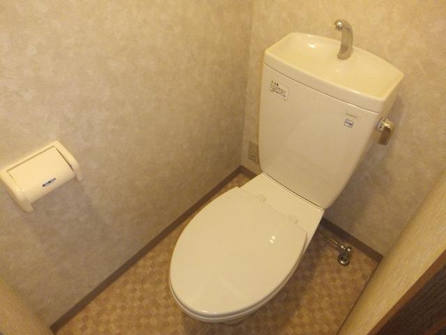 G1ステイツ 402号室のトイレ