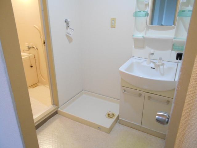 たまプラーザソフィーナ 102号室の洗面所