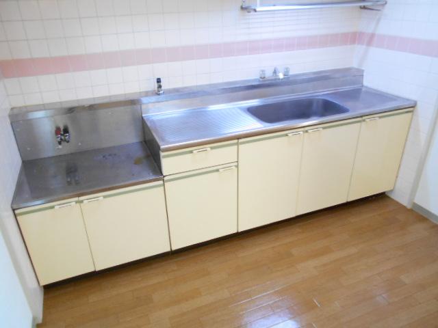 ガーデン鷺沼 103号室のキッチン