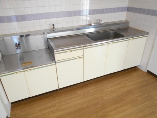 ガーデン鷺沼 203号室のキッチン