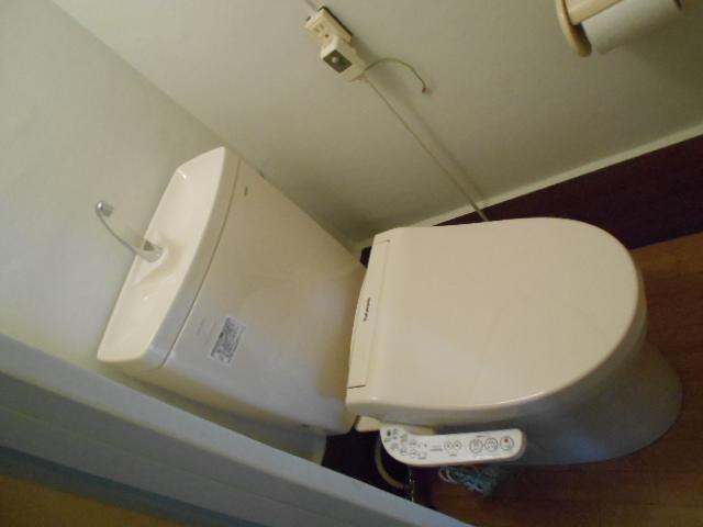 藤が丘団地7号棟 723号室のトイレ