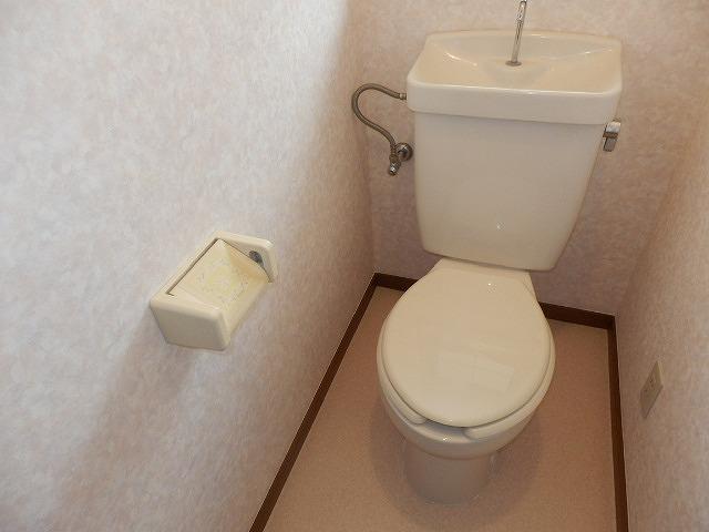 クオリティテラス・オリモA棟のトイレ