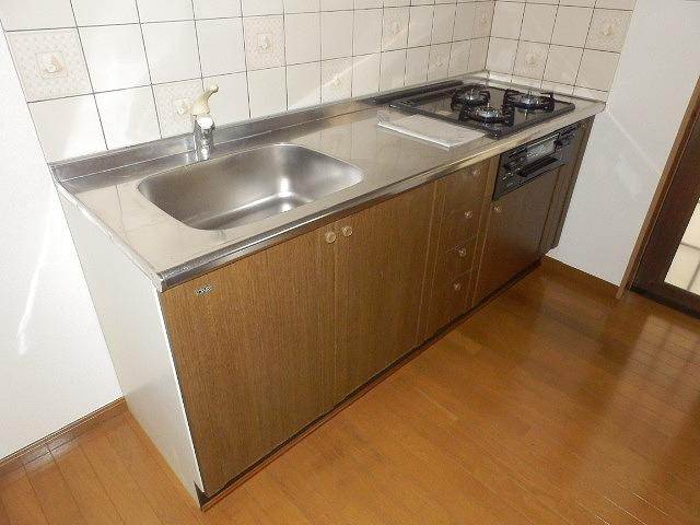 クオリティテラス・オリモA棟のキッチン
